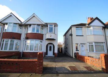 Thumbnail 4 bedroom bungalow to rent in Aylesbury Avenue, Blackpool