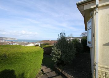 Thumbnail 2 bed detached bungalow for sale in Hoburne Park, Swanage