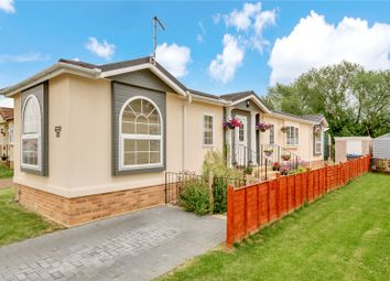 Thumbnail 2 bed mobile/park home for sale in Burway Crescent, Penton Park, Chertsey, Surrey