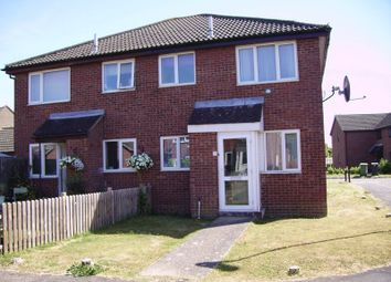 Thumbnail 1 bed semi-detached house for sale in Abbot Close, Wymondham