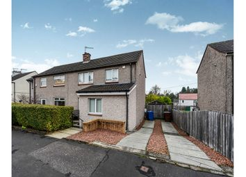 Thumbnail 3 bed semi-detached house for sale in Hillfoot Avenue, Dumbarton
