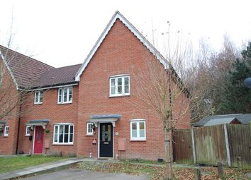 Thumbnail 3 bed end terrace house for sale in Fir Tree Lane, Claydon, Ipswich, Suffolk
