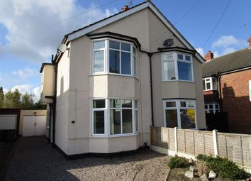 Thumbnail 3 bedroom semi-detached house for sale in Leyland Avenue, Merridale, Wolverhampton