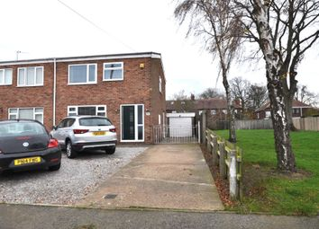 Thumbnail 3 bed semi-detached house for sale in Truro Close, Sutton, Hull