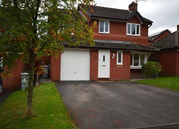 Thumbnail 4 bed detached house to rent in Fishermans Close, Winterley, Sandbach