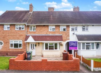 Thumbnail 3 bed terraced house for sale in Napier Road, Walsall