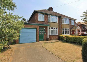 Thumbnail 3 bed semi-detached house for sale in Rampton Road, Cottenham, Cambridge