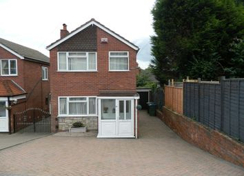 Thumbnail 3 bed detached house for sale in Longcroft Avenue, Wednesbury