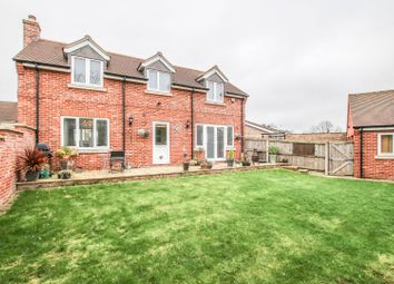Thumbnail 4 bed detached house for sale in Chapel Close, Bedford