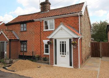 Thumbnail 2 bed cottage for sale in The Street, Bridgham, Norwich