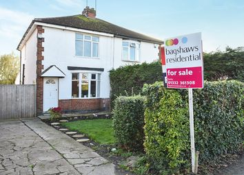 Thumbnail 3 bedroom semi-detached house for sale in Dale Road, Spondon, Derby