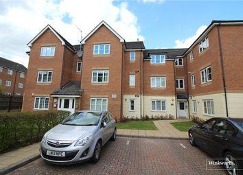 Thumbnail 2 bed flat for sale in Templeton Court, Eaton Way, Borehamwood, Hertfordshire