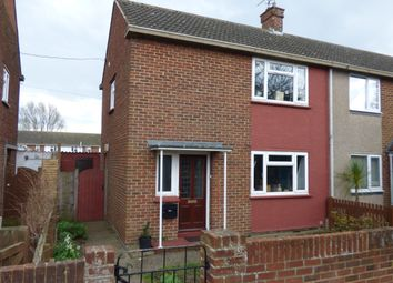 Thumbnail 2 bed end terrace house to rent in Kennedy Close, Faversham