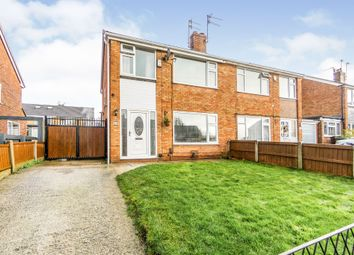 Thumbnail 3 bed semi-detached house for sale in Aldford Close, Prenton