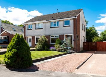 Thumbnail 3 bed semi-detached house for sale in Broomknowes Avenue, Lenzie, Glagsow