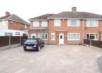 Thumbnail 5 bed semi-detached house for sale in Lucas Road, Burbage, Hinckley