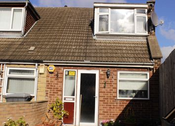 Thumbnail 2 bedroom end terrace house for sale in Fairfax Close, Leicester