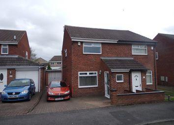 Thumbnail 2 bed semi-detached house for sale in Kirklands, Burradon, Cramlington