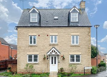 Thumbnail 5 bed detached house for sale in White Eagle Road, Swindon