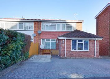 Thumbnail 4 bed semi-detached house for sale in Highlands Road, Andover