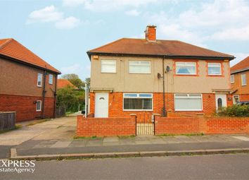 Thumbnail 3 bed semi-detached house for sale in Queens Gardens, Blyth, Northumberland