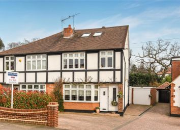 Thumbnail 4 bed semi-detached house for sale in Brooklyn Avenue, Loughton, Essex