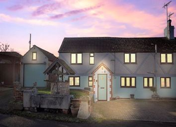 Thumbnail 3 bed end terrace house for sale in Box Cottage, Elcombe, Wroughton