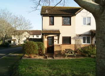 Thumbnail 2 bed end terrace house for sale in Burnham Close, Seaton