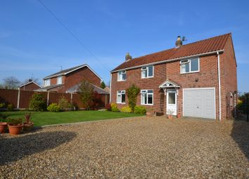 Thumbnail 4 bed detached house for sale in Field Lane, Fakenham