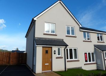 Thumbnail 3 bedroom semi-detached house to rent in St. Davids Park, Llanfaes, Brecon