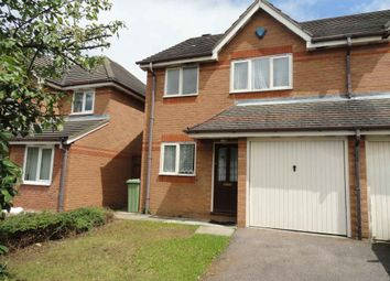 Thumbnail 3 bed semi-detached house for sale in The Oval, Milton Keynes