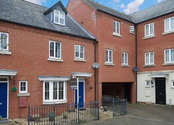 Thumbnail 4 bedroom town house for sale in Banks Court, Eynesbury, St. Neots