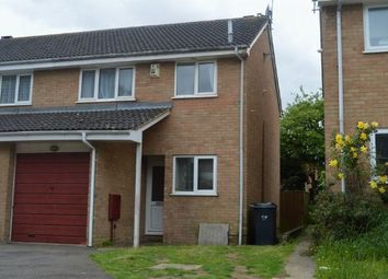 Thumbnail 3 bedroom semi-detached house to rent in Oleander Crescent, Cherry Lodge, Northampton