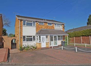 Thumbnail 3 bed semi-detached house for sale in Willow Close, Bromsgrove