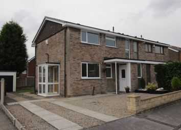 Thumbnail 3 bedroom semi-detached house for sale in Rydal Avenue, Garforth, Leeds