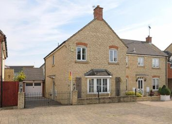 Thumbnail 3 bed semi-detached house for sale in Mallards Way, New Langford, Bicester