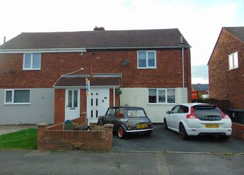 Thumbnail 2 bedroom semi-detached house for sale in Forster Avenue, Sherburn Village, Durham