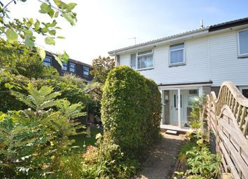 Thumbnail 3 bed end terrace house for sale in Solent Close, Lymington