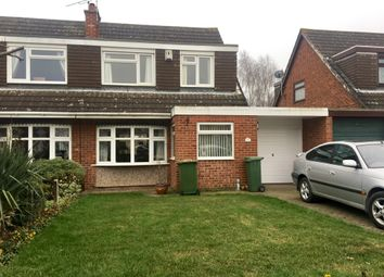 Thumbnail 3 bedroom semi-detached house for sale in Gillam Butts, Countesthorpe, Leicester