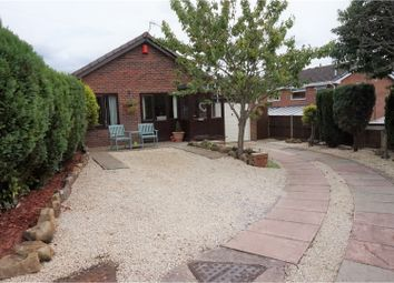 Thumbnail 2 bed detached bungalow for sale in Newborough Close, Stoke-On-Trent