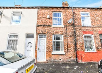 Thumbnail 2 bed terraced house to rent in York Street, Latchford, Warrington