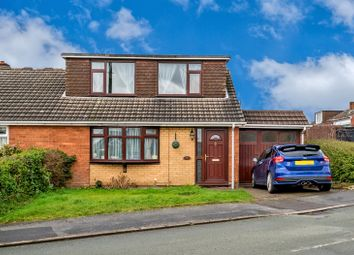 Thumbnail 3 bedroom semi-detached bungalow for sale in Perry Hall Drive, Willenhall