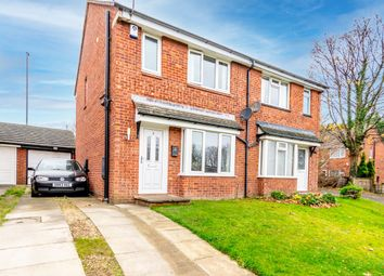 Thumbnail 3 bed semi-detached house for sale in Melton Close, Leeds