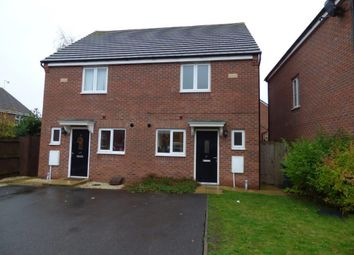 Thumbnail 2 bed end terrace house to rent in Creed Road, Oundle