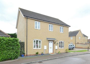 Thumbnail 3 bedroom detached house for sale in Christie Drive, Hinchingbrooke, Huntingdon, Cambridgeshire