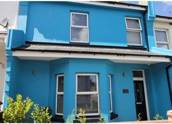 Thumbnail 4 bed terraced house for sale in Roundham Road, Paignton