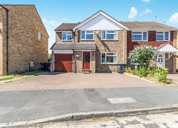 Thumbnail 4 bed semi-detached house for sale in Cobdown Close, Ditton, Aylesford