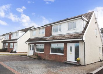 Thumbnail 3 bed semi-detached house for sale in Muirhead, Stonehouse, Larkhall