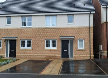 Thumbnail 3 bed semi-detached house for sale in Strother Way, Cramlington
