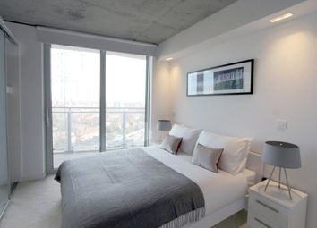 Thumbnail 1 bed flat for sale in Hoola Building, East Tower, Royal Victoria, London
